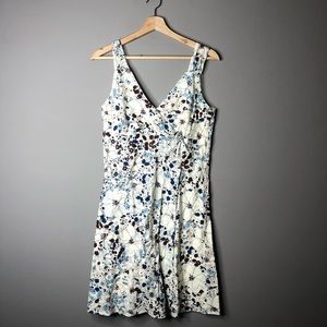 Patagonia floral white dress size 6